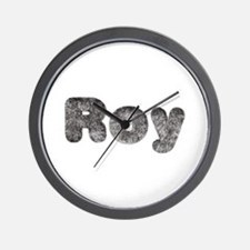 Roy Wolf Wall Clock