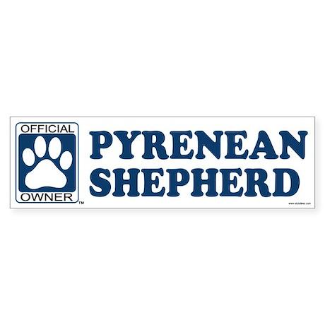PYRENEAN SHEPHERD Bumper Sticker
