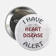 "HEART DISEASE 2.25"" Button (10 pack)"