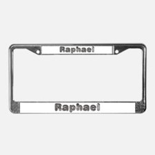 Raphael Wolf License Plate Frame
