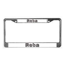 Reba Wolf License Plate Frame
