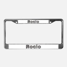 Rocio Wolf License Plate Frame