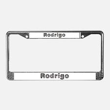 Rodrigo Wolf License Plate Frame