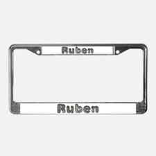 Ruben Wolf License Plate Frame