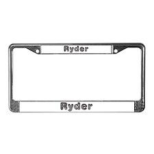 Ryder Wolf License Plate Frame