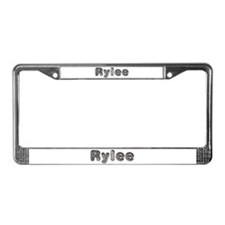 Rylee Wolf License Plate Frame