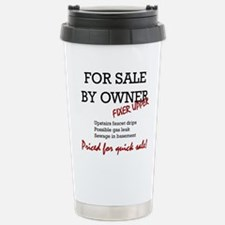 For Sale By Owner Stainless Steel Travel Mug