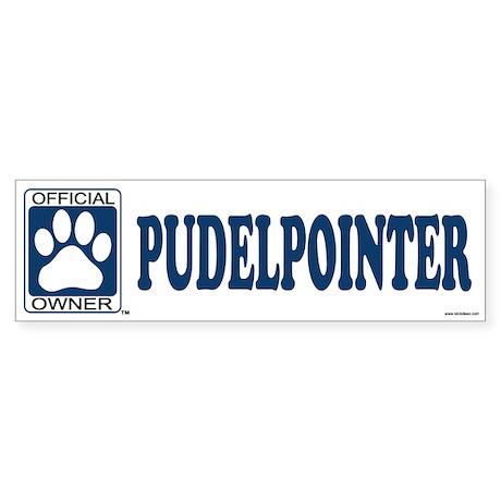PUDELPOINTER Bumper Sticker
