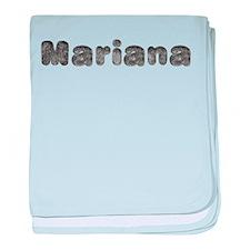Mariana Wolf baby blanket