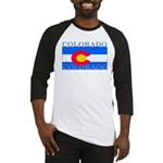 Colorado State Flag Baseball Jersey