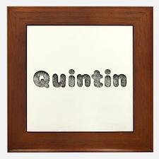 Quintin Wolf Framed Tile
