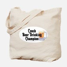 Czech Beer Drinking Champ Tote Bag