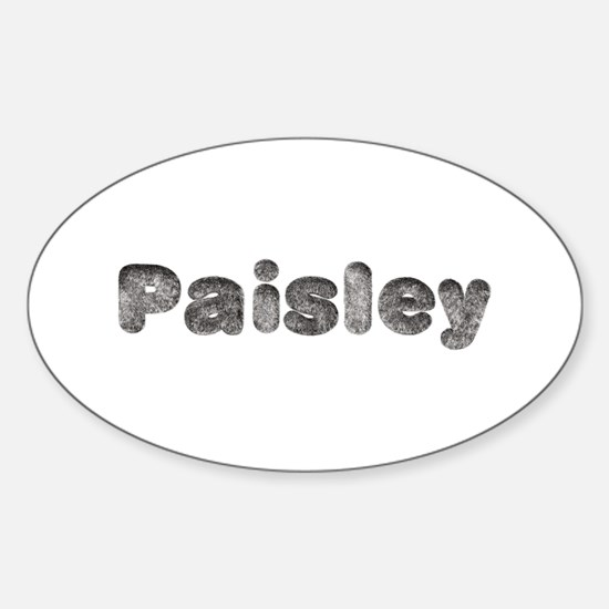 Paisley Wolf Oval Decal