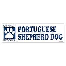 PORTUGUESE SHEPHERD DOG Bumper Bumper Sticker