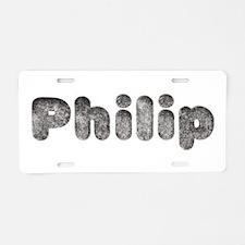 Philip Wolf Aluminum License Plate