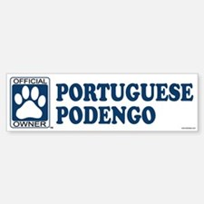 PORTUGUESE PODENGO Bumper Bumper Bumper Sticker