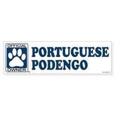 PORTUGUESE PODENGO Bumper Bumper Sticker