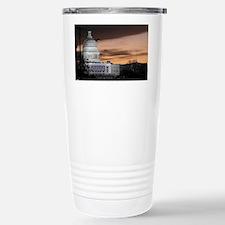 United States Capitol B Travel Mug