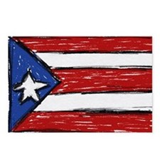 Cute Borinquen Postcards (Package of 8)