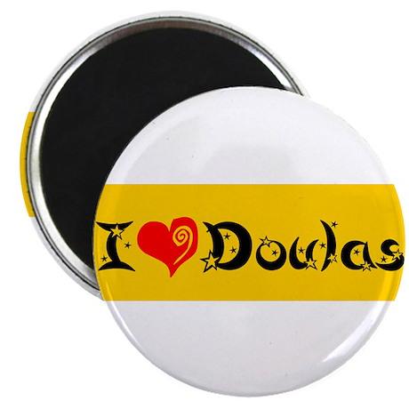 "I heart Doulas 2.25"" Magnet (100 pack)"