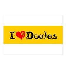 I heart Doulas Postcards (Package of 8)