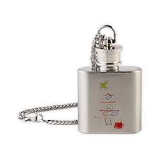Unique Chirstmas Flask Necklace