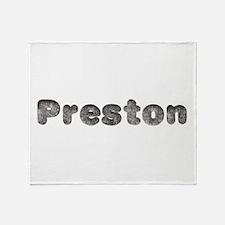Preston Wolf Throw Blanket