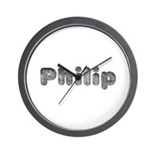 Philip Wolf Wall Clock