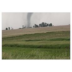 Field Tornado Poster