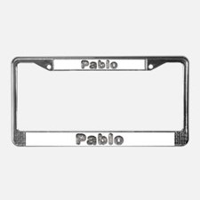 Pablo Wolf License Plate Frame