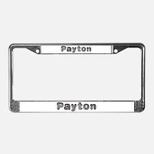 Payton Wolf License Plate Frame