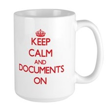 Documents Mugs