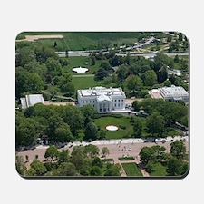 White House Aerial Photograph Mousepad