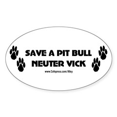 Neuter Vick Oval Decal