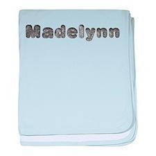 Madelynn Wolf baby blanket