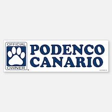 PODENCO CANARIO Bumper Bumper Bumper Sticker