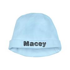 Macey Wolf baby hat
