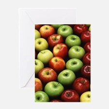 Various Types of Apples Greeting Card