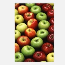 Various Types of Apples Postcards (Package of 8)