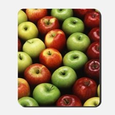 Various Types of Apples Mousepad