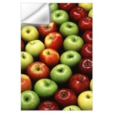 Various Types of Apples Wall Decal