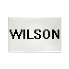 Wilson digital retro design Magnets