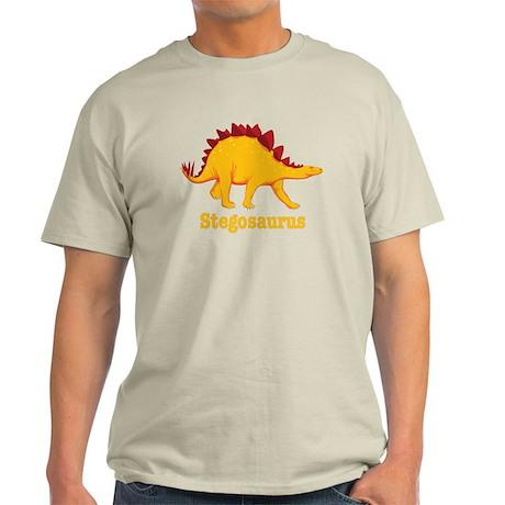 Stegosaurus Dinosaur Light T-Shirt