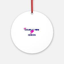 Double Mini Queen Ornament (Round)