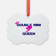 Double Mini Queen Ornament