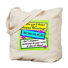 Three Rules Tote Bag
