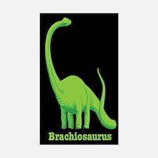 Brachiosaurus Dinosaur Rectangle Decal