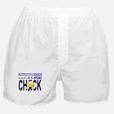 Huntington's MessedWithWrongChick1 Boxer Shorts