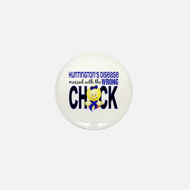Huntington's MessedWithWrongChick1 Mini Button