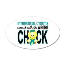 Interstitial Cystitis Messed Wall Decal
